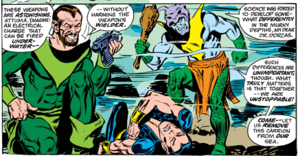 Marvel Age Doom: Slayers From The Sea!