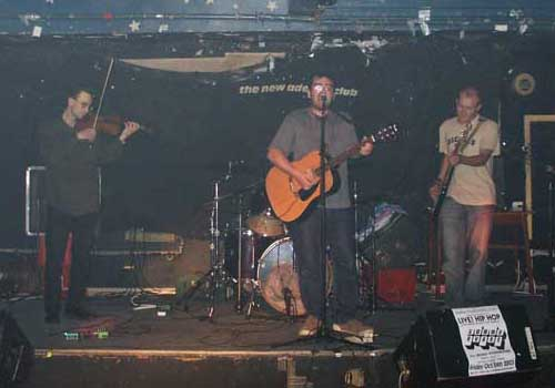 Only Sunday October 12th 2003 The Validators returned to the Hull Adelphi