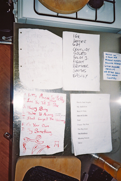 The setlists gathered for Other Bands' Setlists