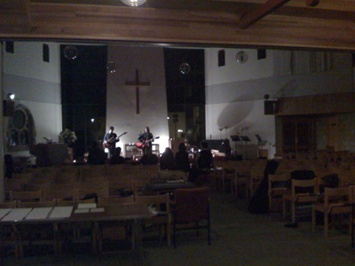 30/10/2008 - the Church in Gipsy Hill, just after I had done SWEARING!